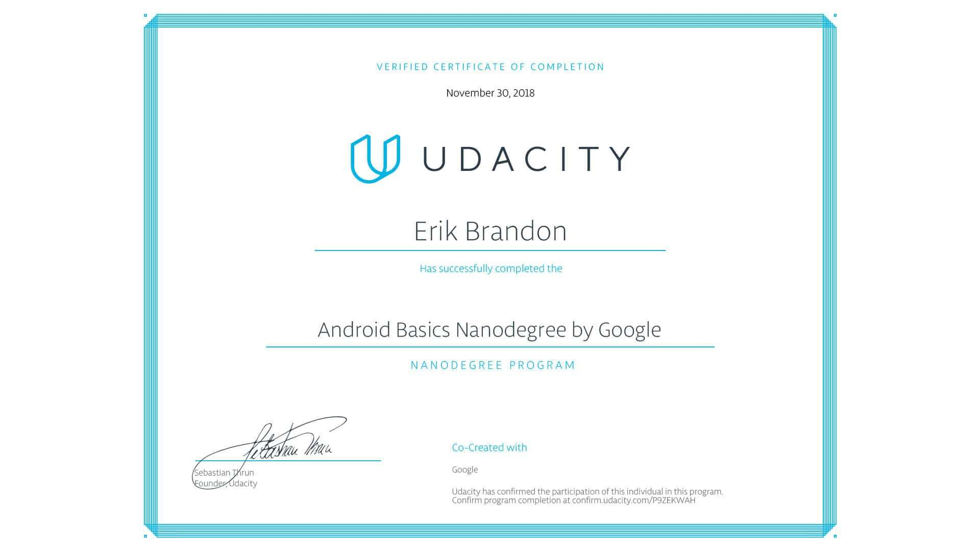udacity-android-basics-nanodegree-certificate-of-completion