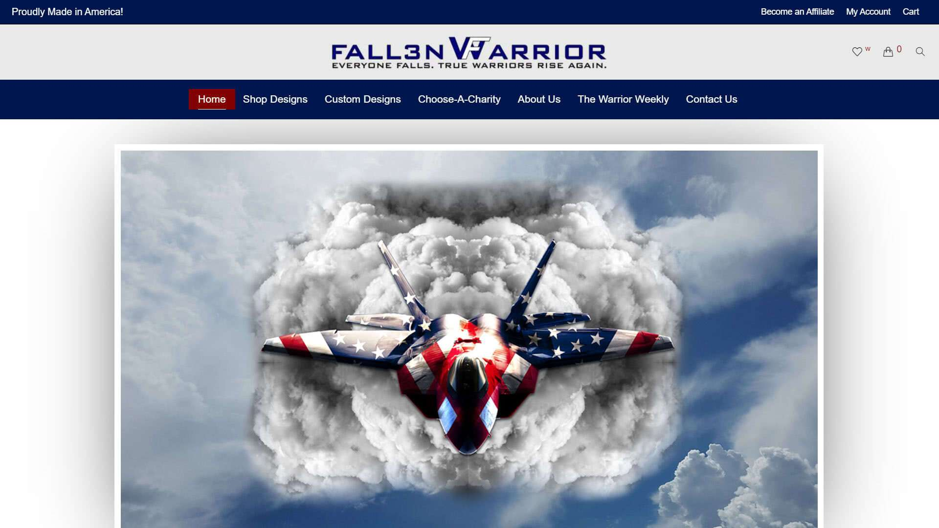 fall3nwarrior-home-page